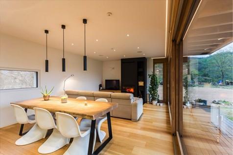 Kompletná elektroinštalácia, inteligentná domácnosť, smart house, smart home, moderné kúrenie, technologické riešenia, stavebná firma, hotelové systémy a enviro