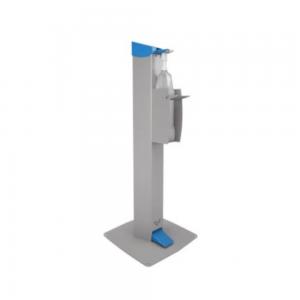 Dezinfekčný mechanický stojan bezdotykový je vyrobený s dôrazom na funkčnosť a bezproblémové používanie.
