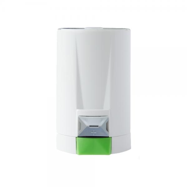 LOXONE hlavica je ideálna pre inteligentné ovládanie teploty v miestnosti. Set inteligentného a bezdrôtového vykurovania domácnosti od Smart House by ELIS plus.